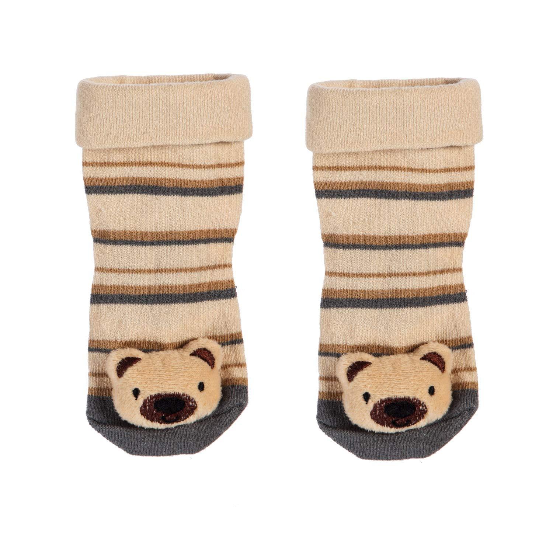 Set of 2 b.Boutique Baby Boy Plush Socks
