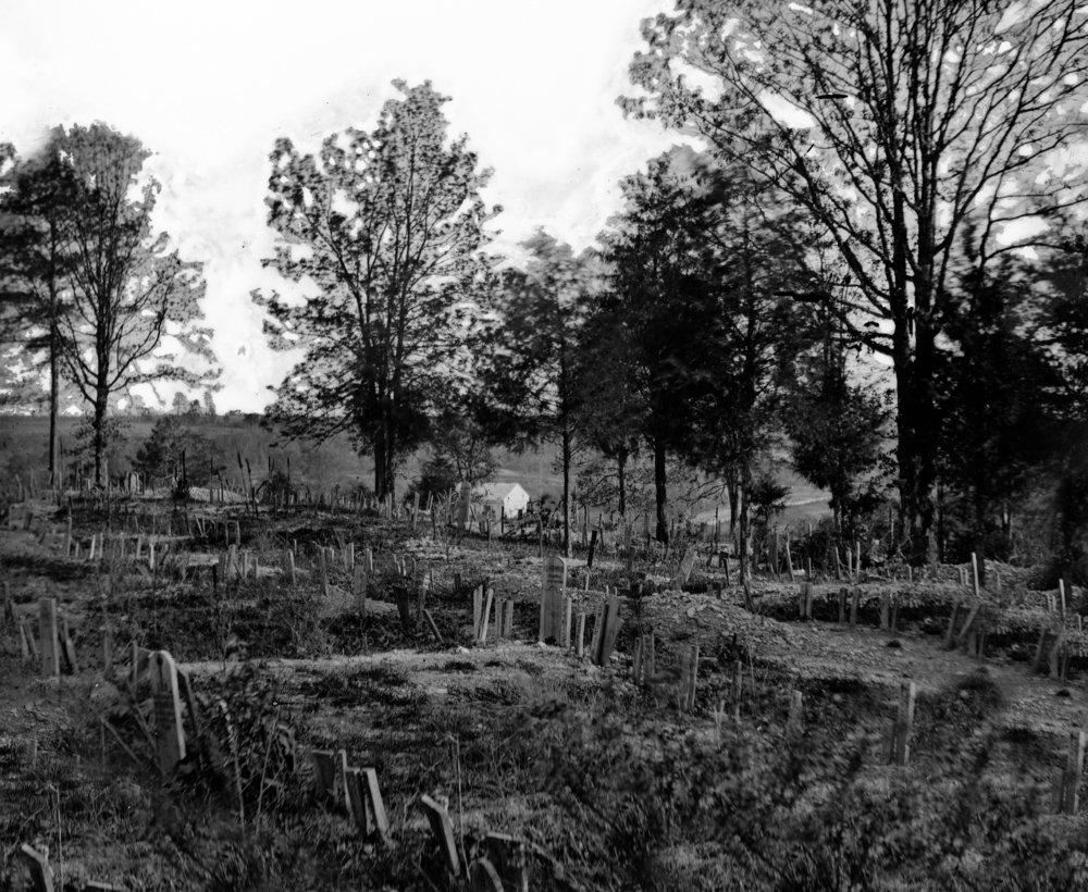 リッチモンド – Confederate Graves in Hollywood Cemetery Civil War写真 36 x 54 Giclee Print LANT-21062-36x54 B01MG35GGH  36 x 54 Giclee Print