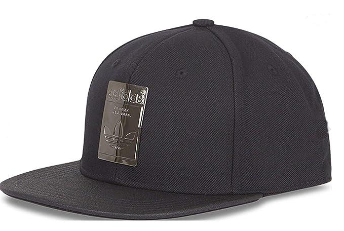 dad9157ba2c92 adidas Originals Superstar Metallic Badge Snapback Baseball Hat Cap -  CV8150 Black Silver  Amazon.co.uk  Clothing