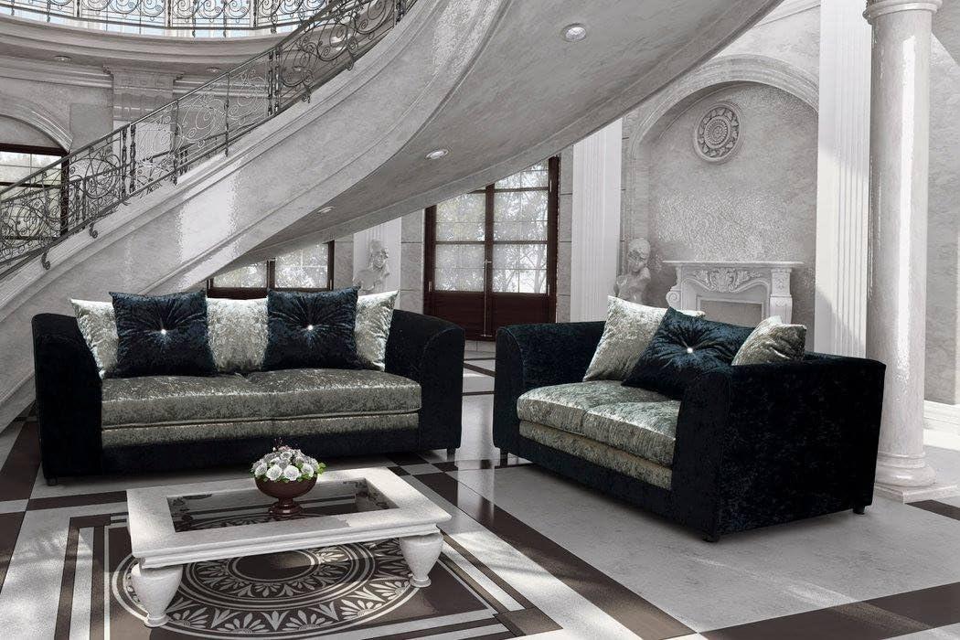 Grey Velvet Sofa Living Room Ideas
