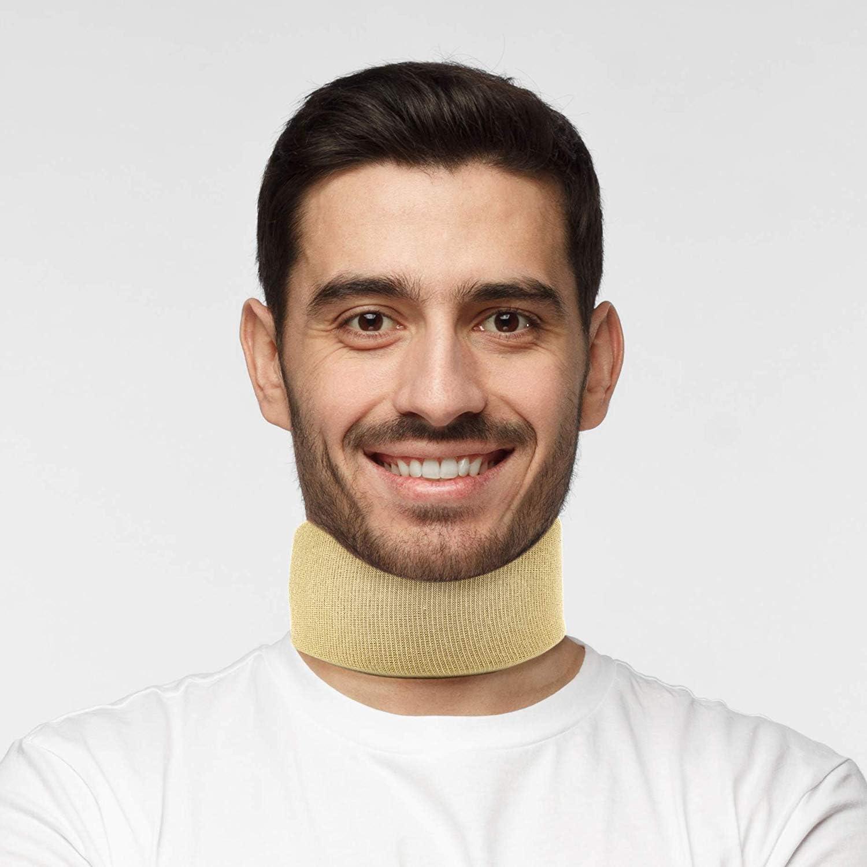 Collarín Ortopédico Actesso - para Traumatismo por Latigazo Cervical, Soporte del Dolor y Artritis Cervical (Pequeña)