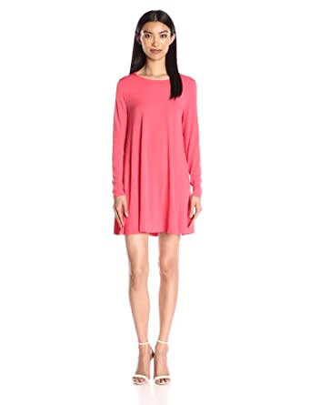 Glamorous Women's Long-Sleeve Swing Dress at Amazon Women's ...