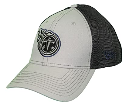 buy popular 2c877 159d4 Image Unavailable. Image not available for. Color  New Era Tennessee Titans  NFL 39THIRTY 2T Sided Flex Fit Meshback Hat ...
