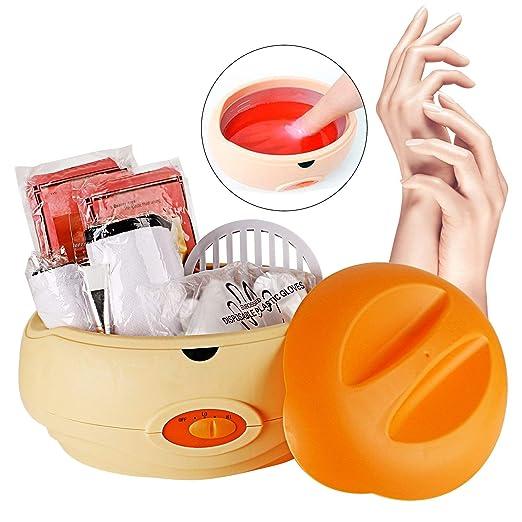 Forever Speed Calentador de parafina baño Cera de parafina Calentamiento Rápido y accesorios parafina Starter Juego de color Naranja