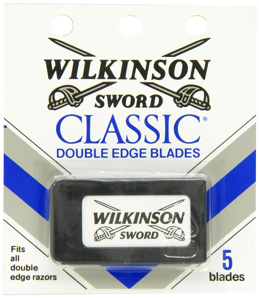 Wilkinson Sword Classic Double Edge Razor Blades- (Pack of Two)