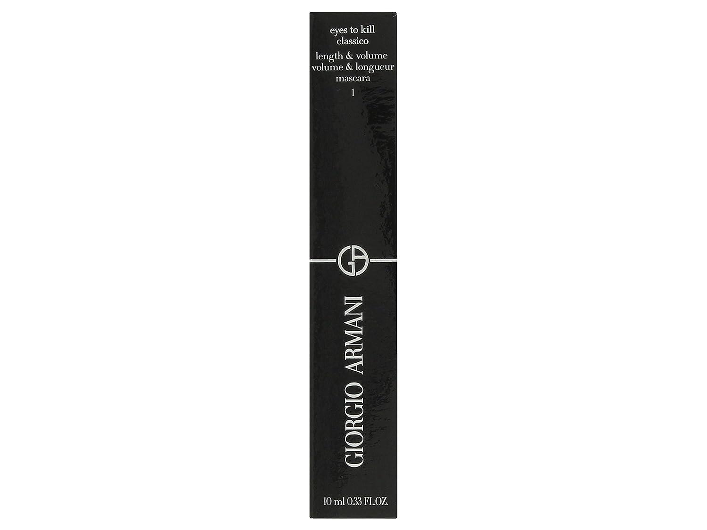 Giorgio Armani Eyes To Kill Classico Mascara, 1 Black, 0.33 Ounce
