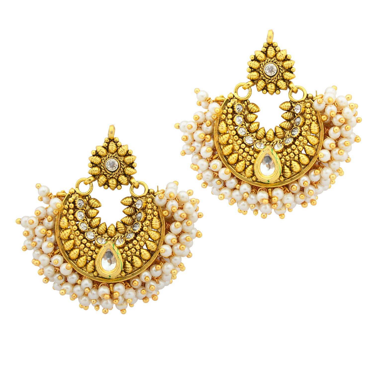 designer senthil designs jewellers earrings murugan pin fancy gold from