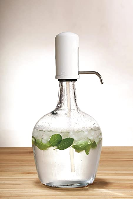 Jarra dispensador de bebidas de vidrio cóctel de 3,9L bebidas agua zumo Punch fiesta