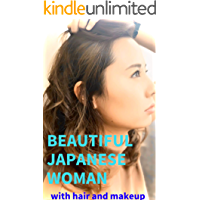 Beautiful Japanese woman with hair and makeup (English Edition)