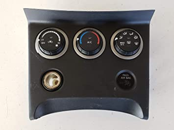 11 12 13 14 15 NISSAN ROGUE A//C HEATER TEMPERATURE CLIMATE CONTROL