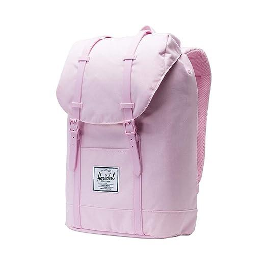 f1b198964b3 Herschel Retreat Backpack Pink Lady Crosshatch One Size
