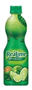 ReaLime 100% Lime Juice, 8 Fluid Ounce Bottle