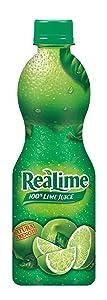 ReaLime 100% Lime Juice, 8 Fluid Ounce Bottle