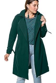 1164e73835f3a Studio Untold Women s Plus Size Stretch Jersey Striped Top Dark ...