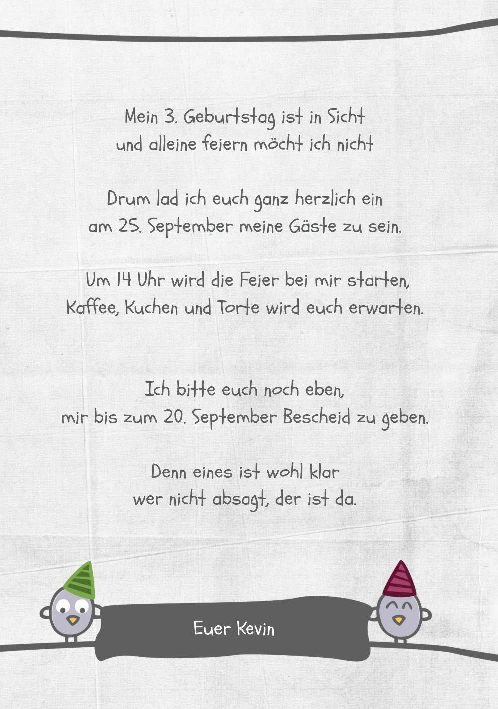 Einladung zum Geburtstag Foto Foto Foto Vogelfest, 20 Karten, PastellHellGrün B07L12VYWP   Verrückter Preis    Neues Produkt    Elegant  ae3246