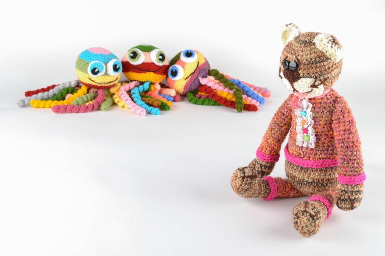 Crochet Designer Toy Cat