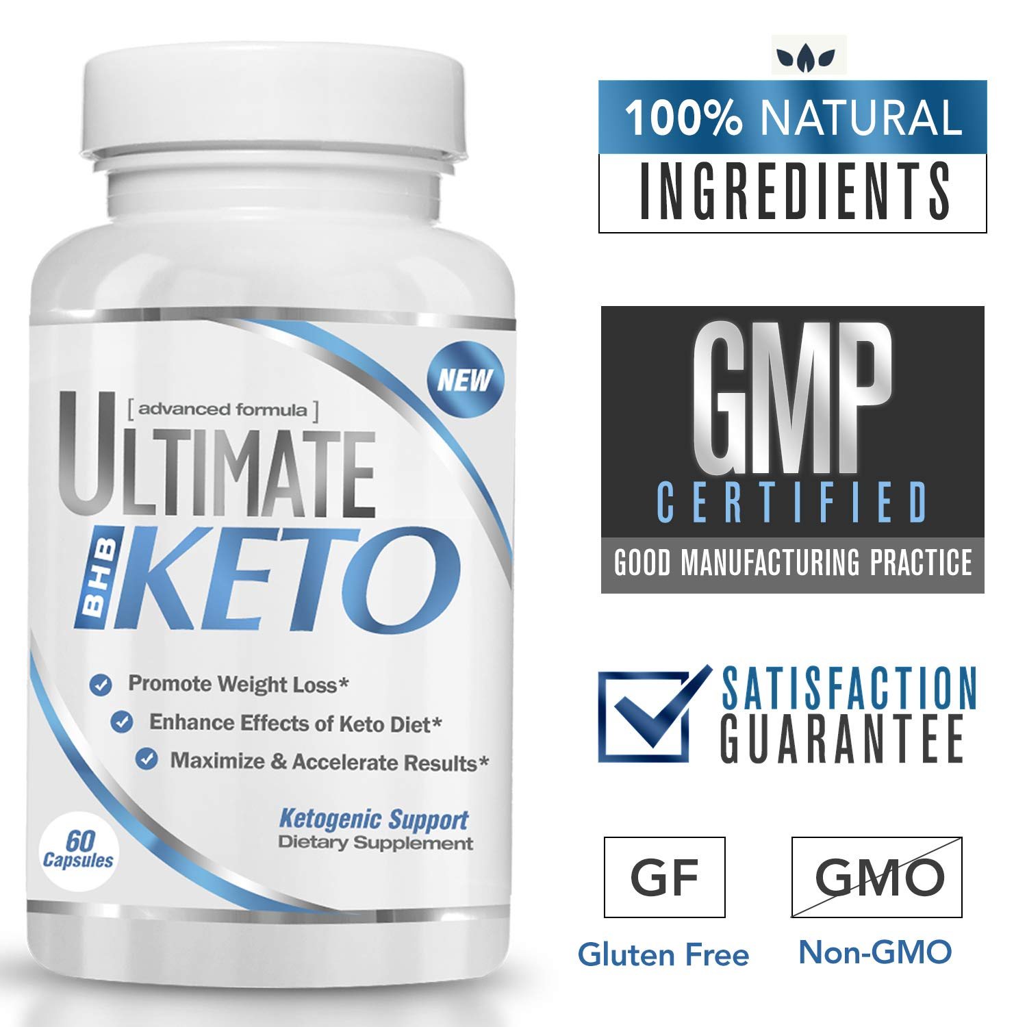 Amazon.com: Ultimate Keto - BHB Exogenous Ketones Supplement - Weight Loss and Keto Diet Support - Enter Fast Ketosis - Burn Fat - Beta-Hydroxybutyrate ...