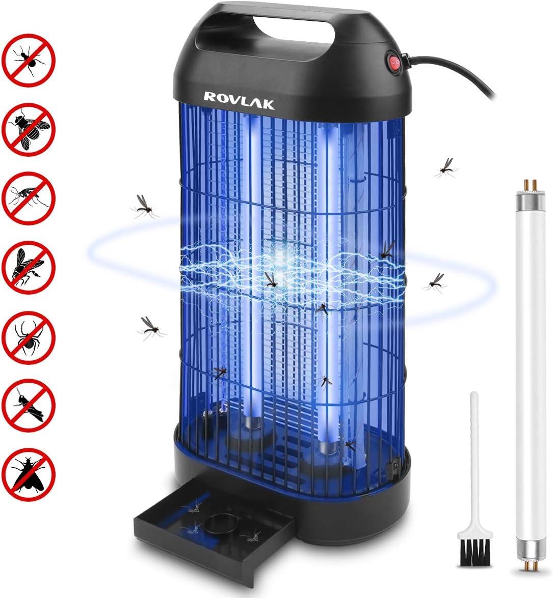 ROVLAK Lámpara Antimosquitos Electrico Antimosquitos Interior ...