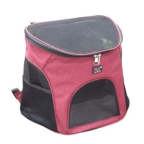 Maimai Bolsa para Gatos Mochila para Mascotas Paquete de Perros Transpirables Bolsa para Mascotas Bolsa para