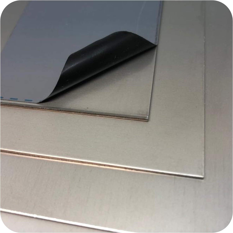 Plaque en aluminium plaque alu 0,5 mm 100mm x 100mm