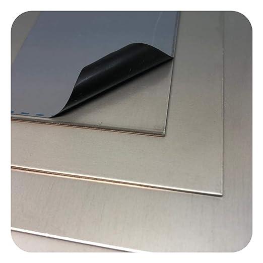 Chapa de acero inoxidable V4A, de 1 mm hasta 3 mm: Amazon.es ...