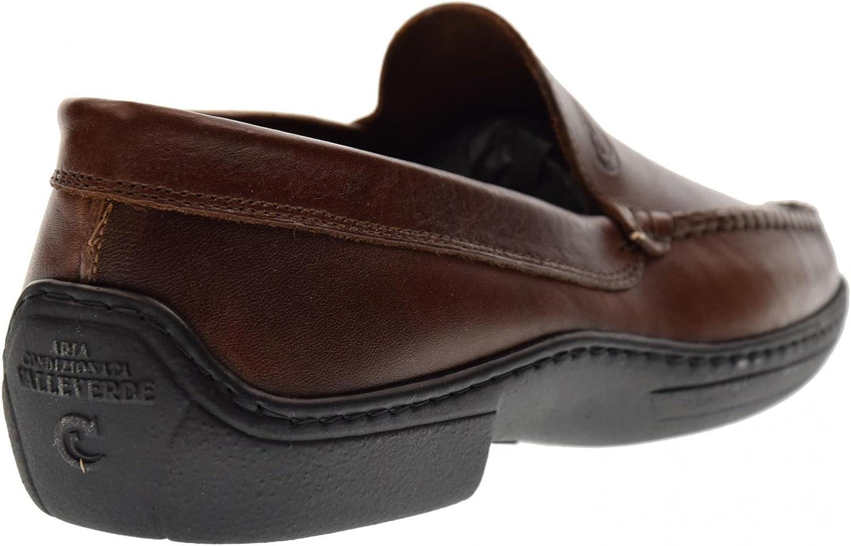 VALLEVERDE Mens Shoes Moccasins 11822 Brown