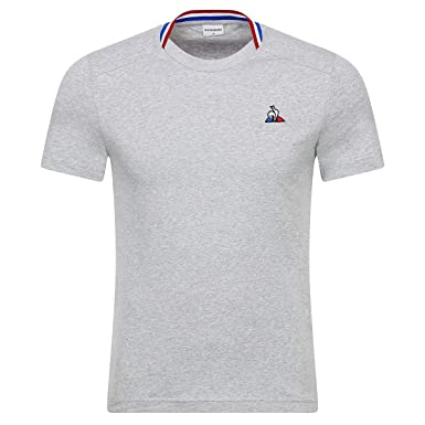 Le Coq Sportif Tri Tee SS N°2, Camiseta - S: Amazon.es: Ropa y ...
