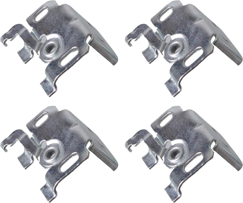 2 St/ück EFIXS Universaltr/äger Jalousietr/äger f/ür Wand- oder Deckenmontage f/ür Aluminium-Jalousien mit 25mm Oberschiene