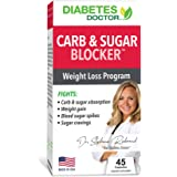 Diabetes Doctor Mealtime Carb & Sugar-Blocker - Reduce Blood Sugar Spikes and Carbohydrate Absorption -Stable Blood Glucose L