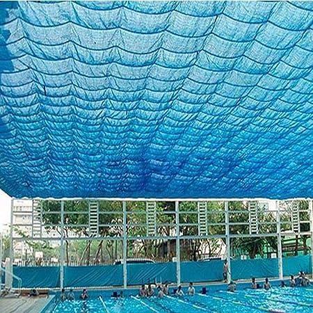 Sombra Solar Malla Cubierta Exterior O Exterior 90% Rollo De Tela Protectora Solar, Tela De Sombra Azul Manténgase Fresco para Piscina, Terraza, Patio, Pérgola, Patio Trasero: Amazon.es: Hogar