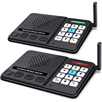 Wireless Intercom System - 10 Channel 3 Codes Room to Room Intercom System Long Range 1 Mile Intercomes Wireless for…