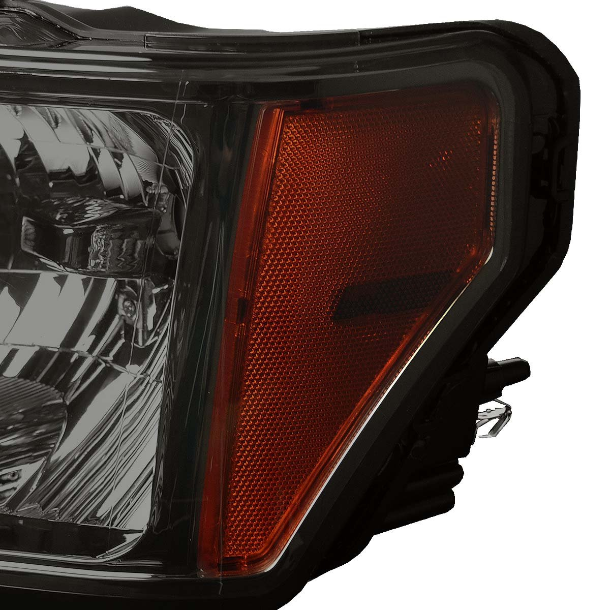 Driver /& Passenger Side HL-OH-F1509-SM-AM DNA Motoring HLOHF1509SMAM Headlight