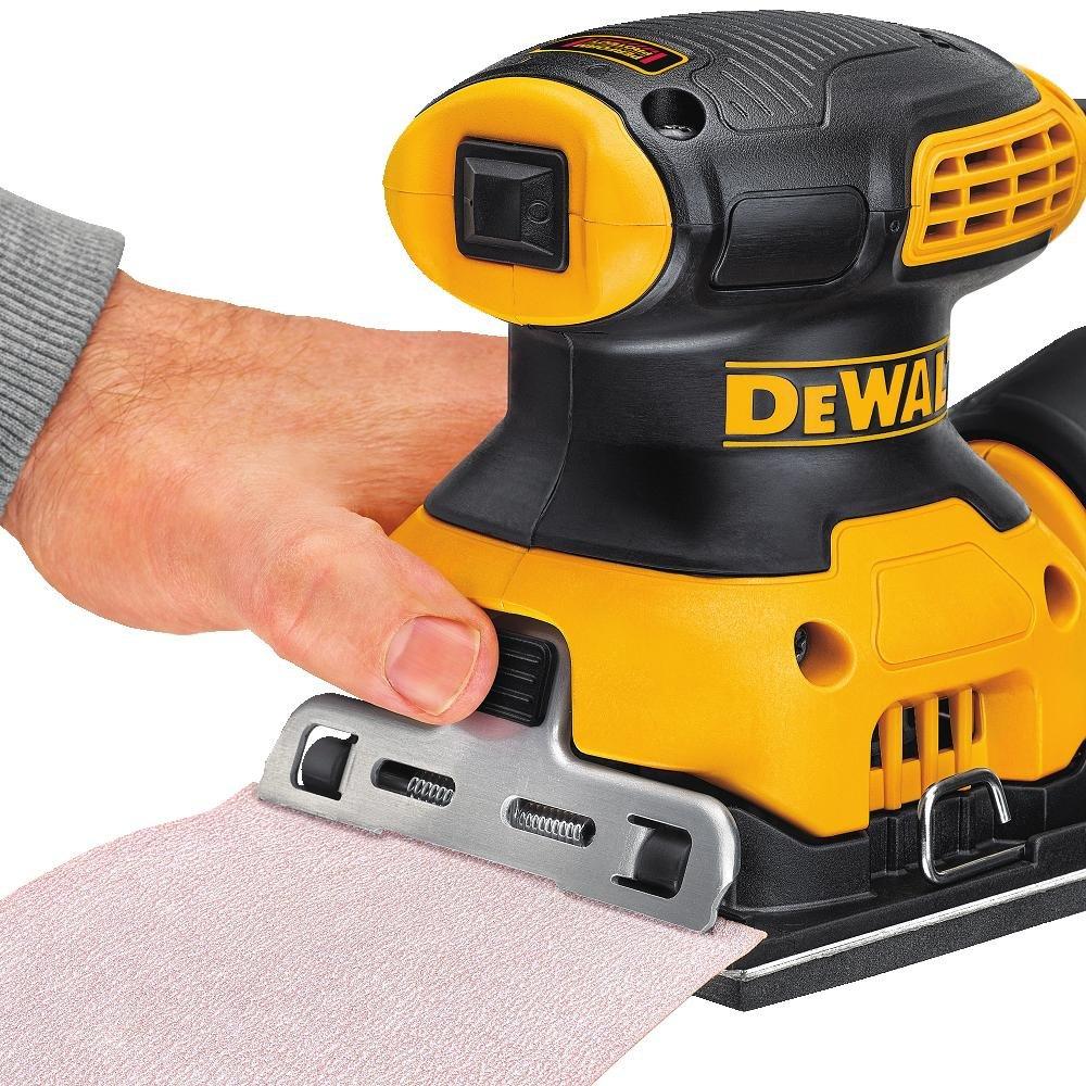 DEWALT DWE6411K 1/4 Sheet Palm Grip Sander Kit by DEWALT (Image #5)