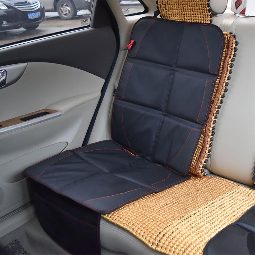 Winthome Autositzschoner Kindersitz Sitzschoner Unterlage auch Rü cksitzbank Schutzauflage Schwarz CBHD-001