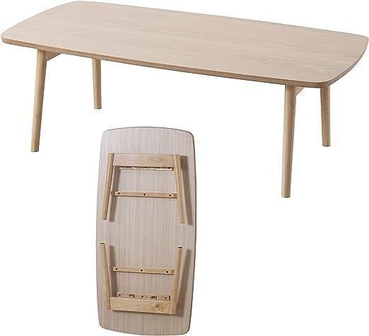 Amazon Com Azumaya Blt 229oak Folding Legs Coffee Center Table