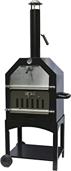 La Hacienda Steel Pizza Oven and Smoker