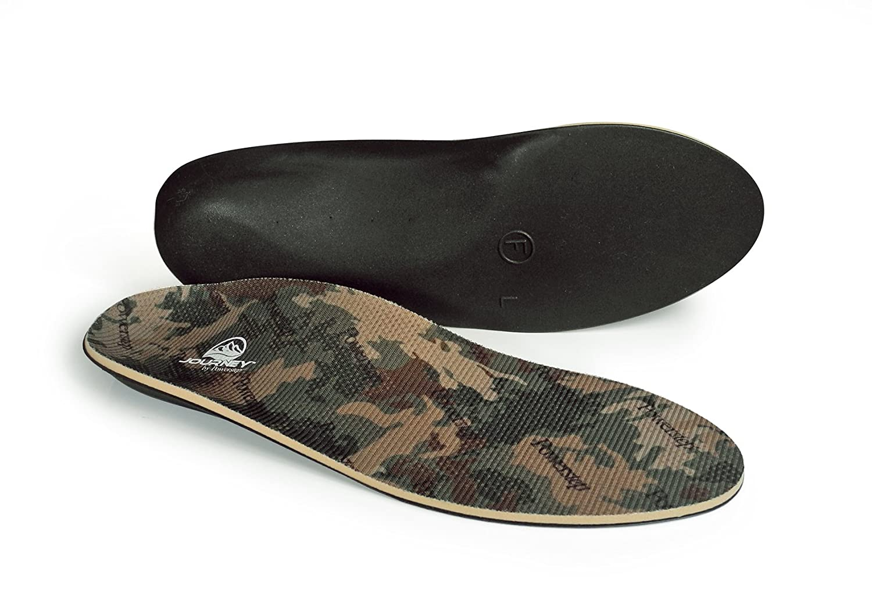 Powerstep Journey Hiker Insoles Athletic Sandal, Camo, Men's 6-6.5/Women's 8-8.5