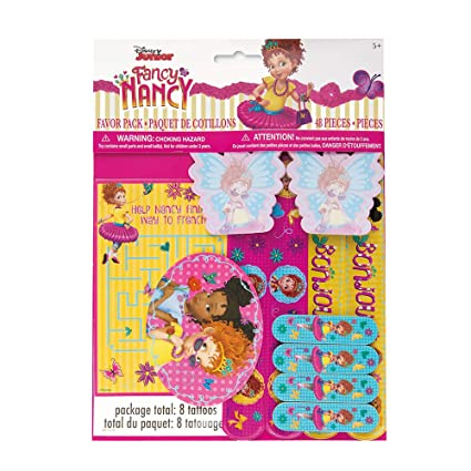 Amazon.com: Unique Industries Disney Fancy Nancy paquete de ...
