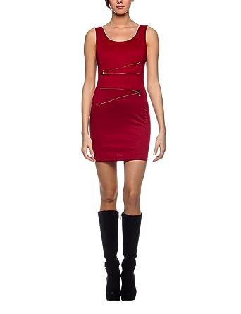 online retailer d5c5a 58323 Les Sophistiquees Women's Abito Tubino Smanicato Con Zip ...