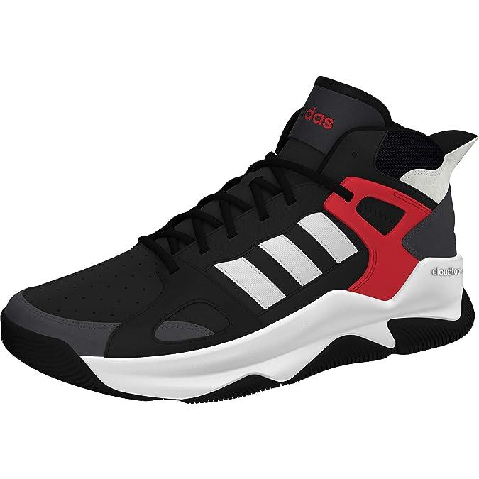 adidas Herren Freizeit Fitness Sport Basketball Schuhe Pro