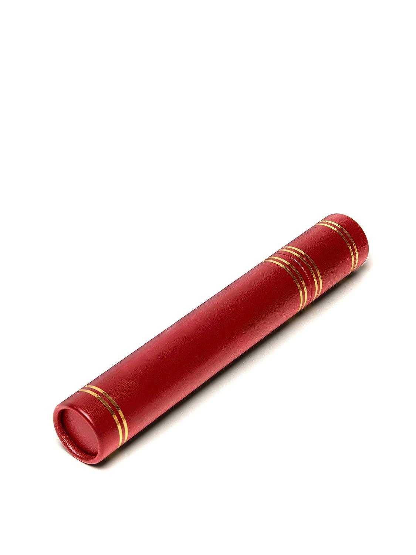 Tubo per certificati e diploma A4 size Red