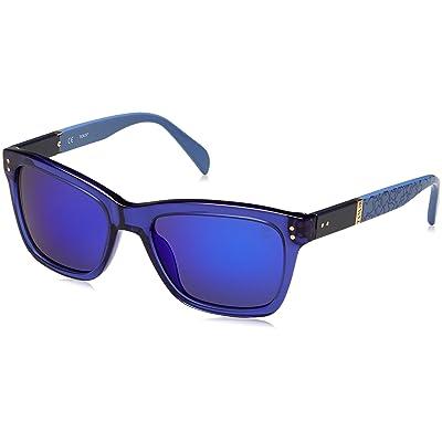 Tous STO835-53955B Gafas de sol, Shiny Transp.Blue, 53 para Mujer: Ropa y accesorios
