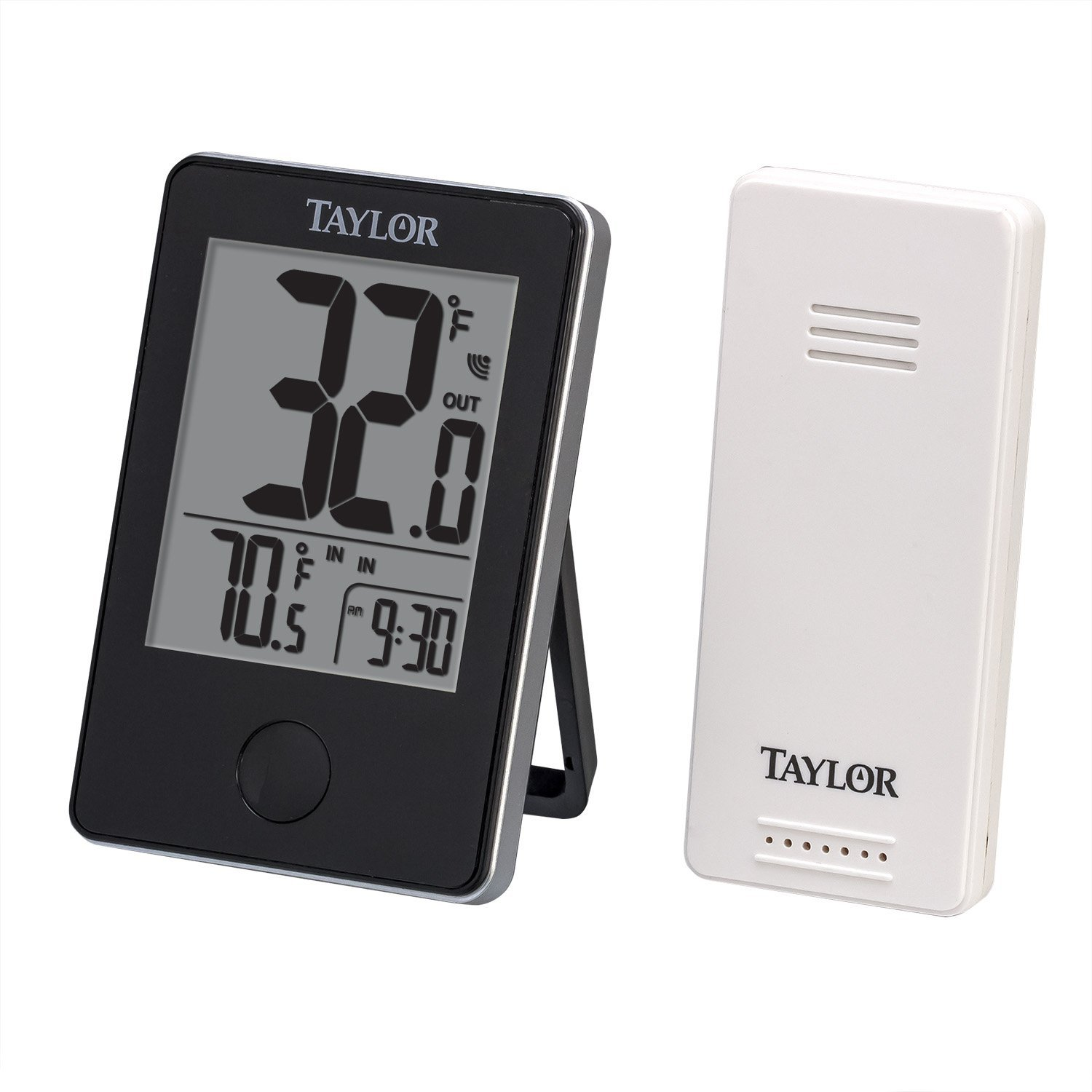 Voice craft digital talking thermometer - Taylor Precision Products Wireless Digital Indoor Outdoor Thermometer