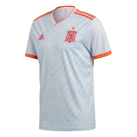 Image Unavailable. Image not available for. Color  adidas 2018-2019 Spain  Away Football Shirt (Kids) c4a4398f8
