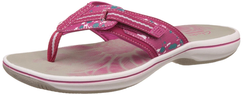 223bf972dd25 Clarks Brinkley Jazz Womens Sandals 8 Fuchsia Camo  Amazon.co.uk  Shoes    Bags