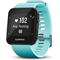 Garmin Forerunner 35, Easy-to-Use GPS Running Watch, Frost Blue