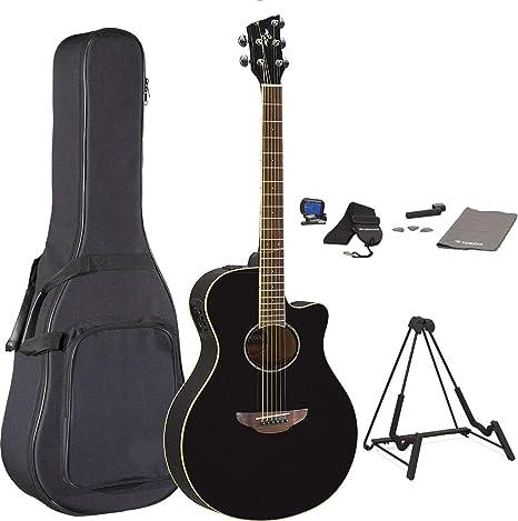 Yamaha APX600 Paquete de guitarra acústica eléctrica Thinline ...