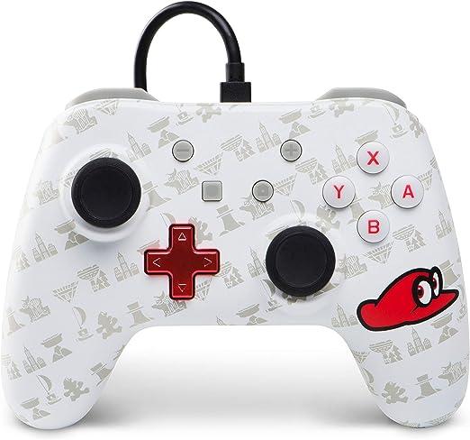 Power A - Mando con hilo, Mario Odyssey (Nintendo Switch): Amazon ...