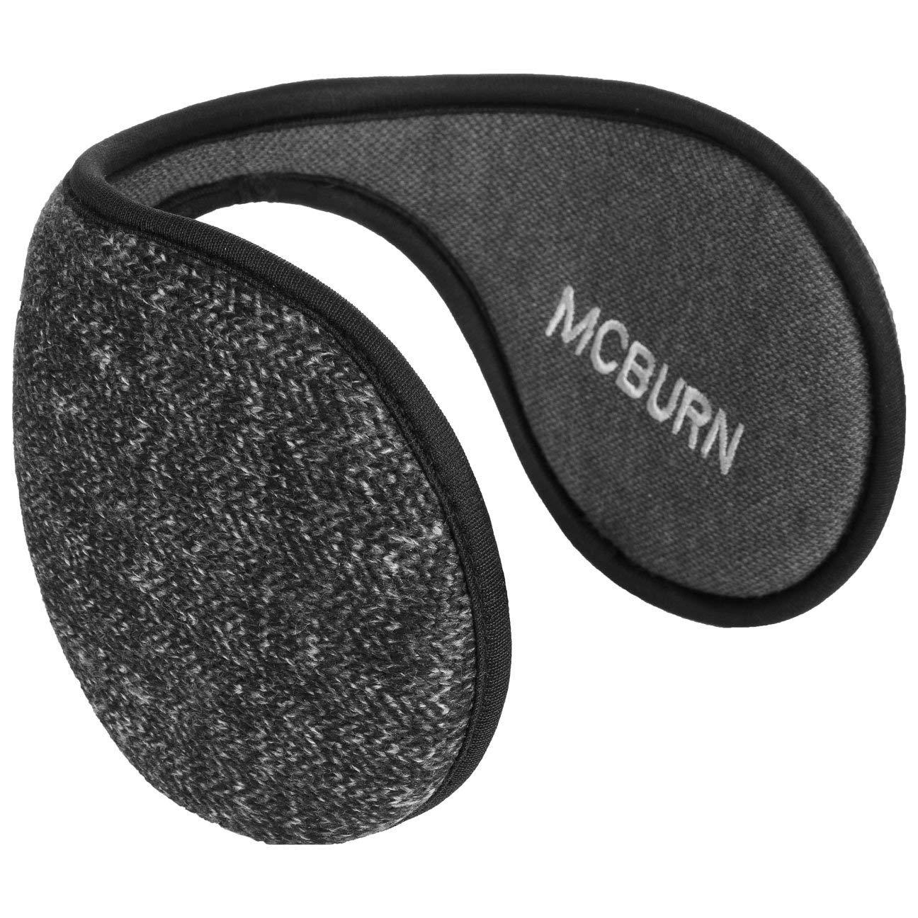 McBurn Melange Knit Earband Ear Warmers Muffs