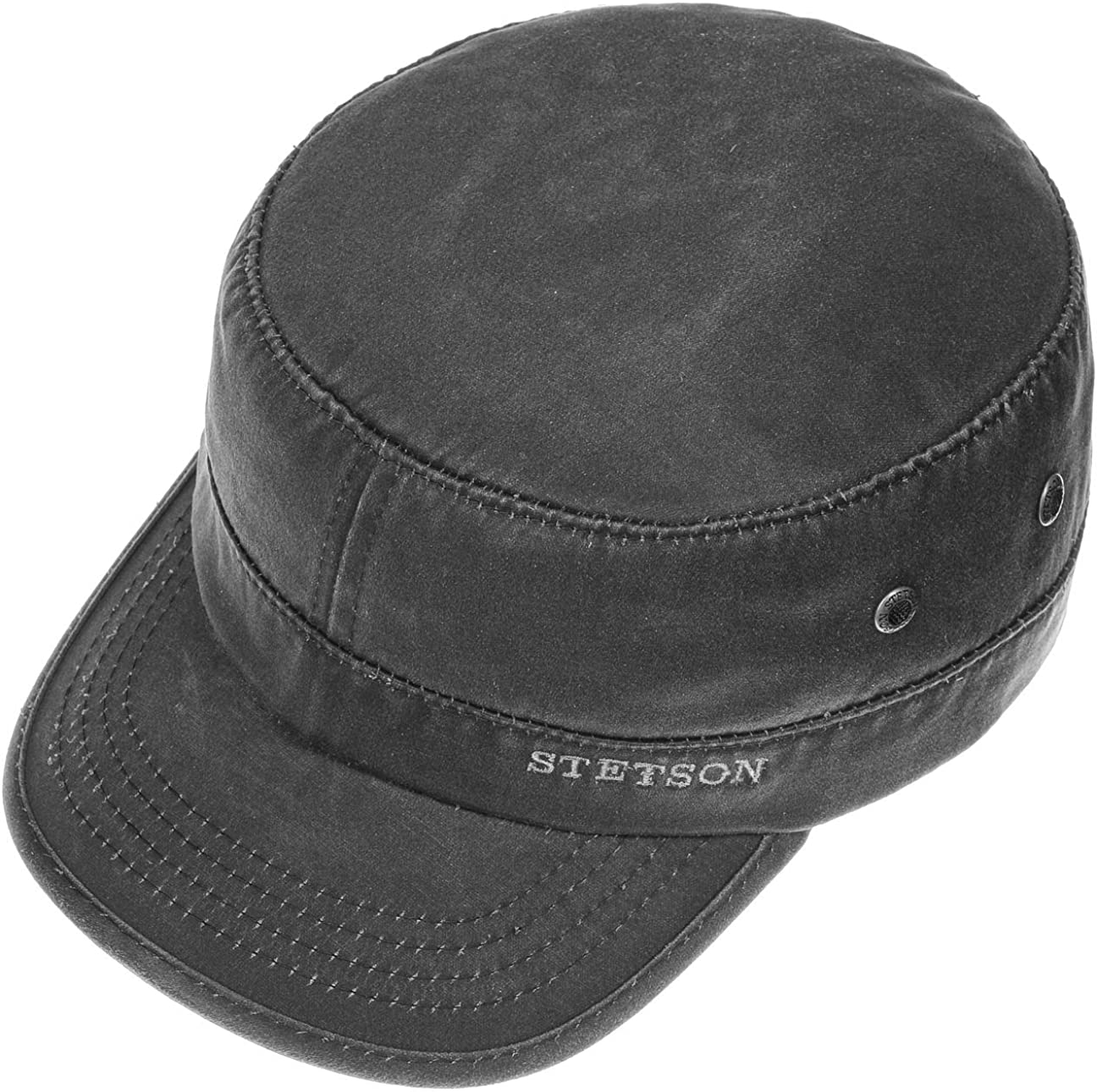 Stetson Datto Armycap Hombre - Algodón Impermeable - Invierno ...